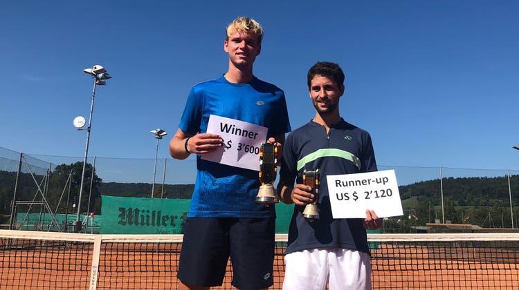 Wessels gewinnt erstes internationales Turnier in Schlieren