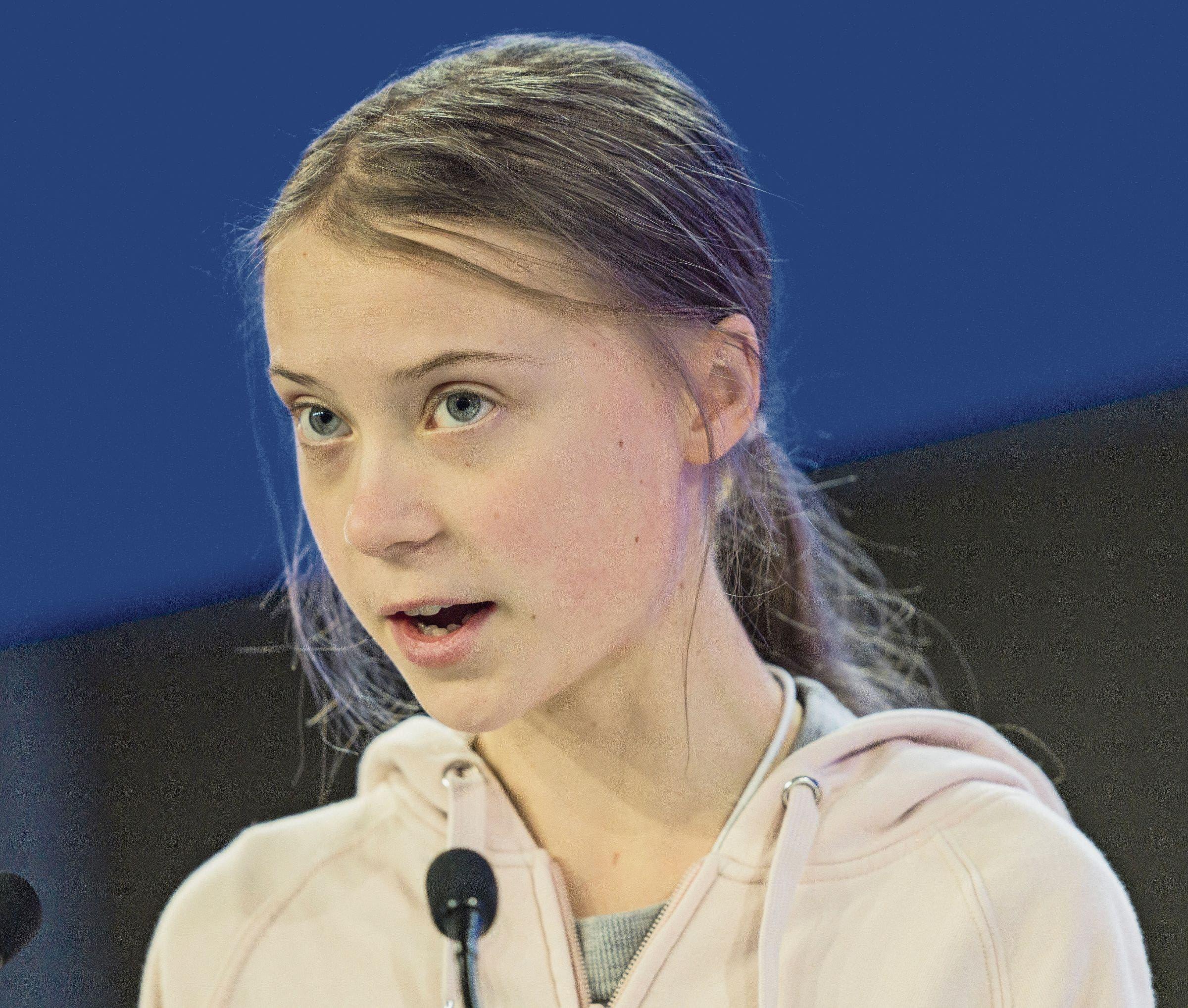 Umwelt- und Klimaschutzaktivistin Greta Thunberg.