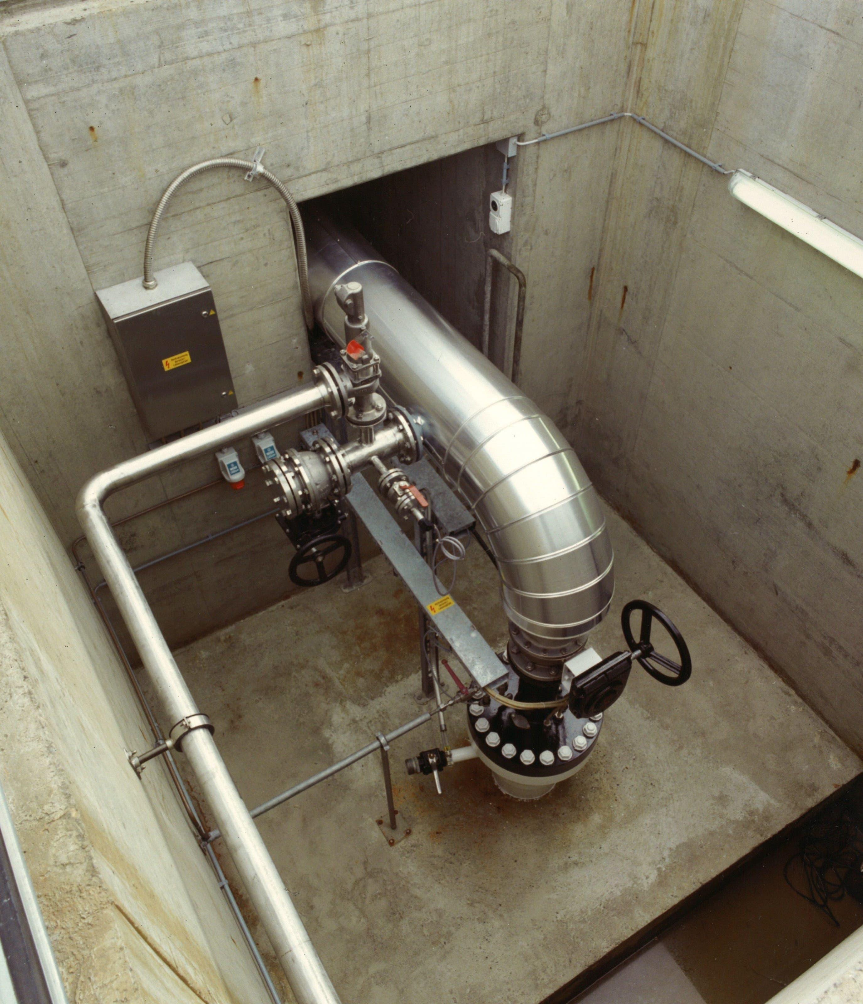 Brunnenkopf-2 Die Riehener Geothermie-Anlage besteht seit 1994.