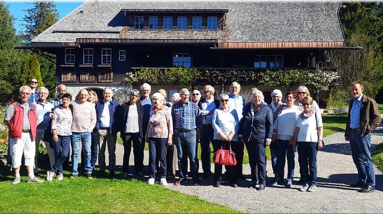 Veloclub Rheinfelden auf Vereinsreise in Schwarzwald, Breisgau und Markgräflerland