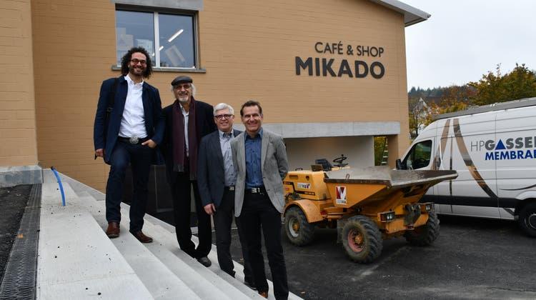 Raum für geschützte Arbeitsplätze: Haus «Mikado» lässt sich sehen