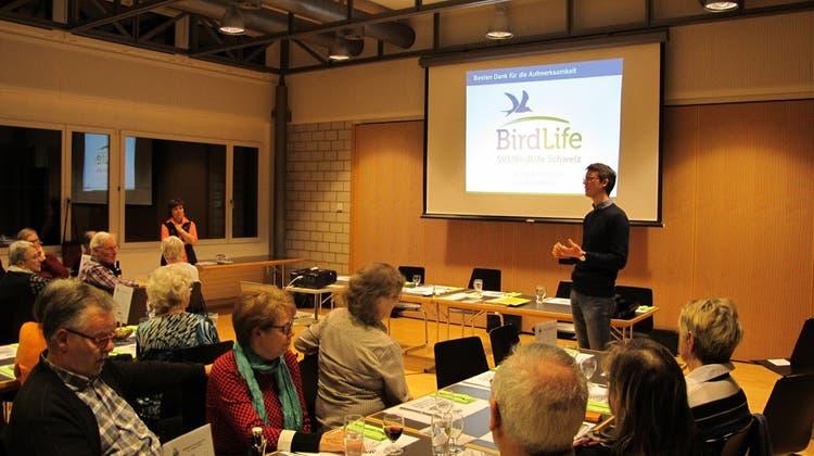 87. Mitgliederversammlung des Natur- und Vogelschutzvereins Niederrohrdorf