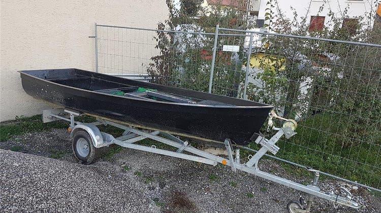 Gemeinde verkauft ein herrenloses Ruderboot – auf dem Onlineportal Ricardo