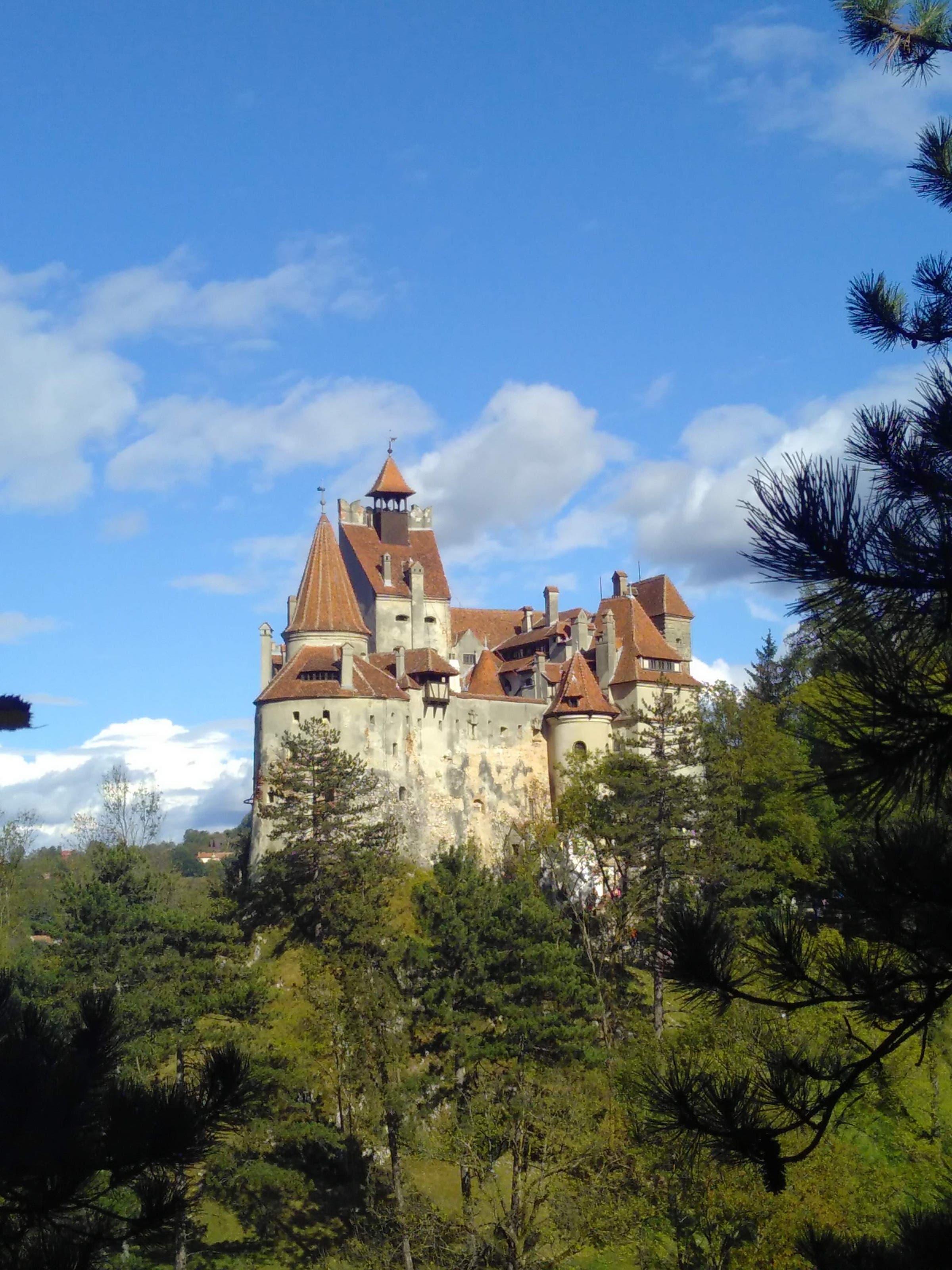Schloss Bran, wo Drakula trotz des Romans von Bram Stoker nie gelebt hat.