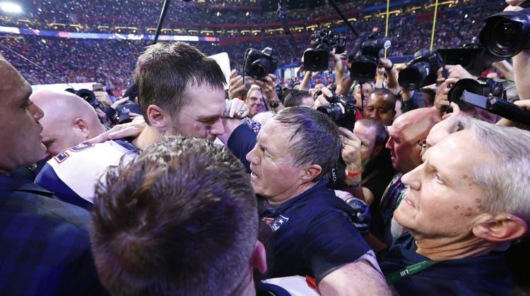 Die Herren der Ringe: Bill Belichick und seine New England Patriots gewinnen erneut die Super Bowl