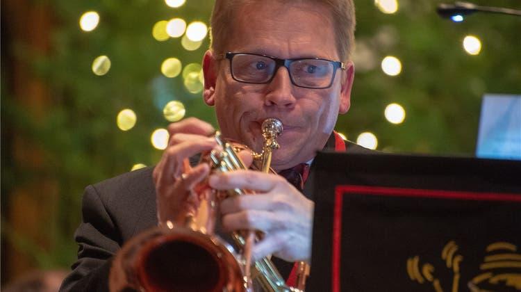 Einen Tick feierlicher: Erstmals spielte die Brass Band im Kapuzinerkloster
