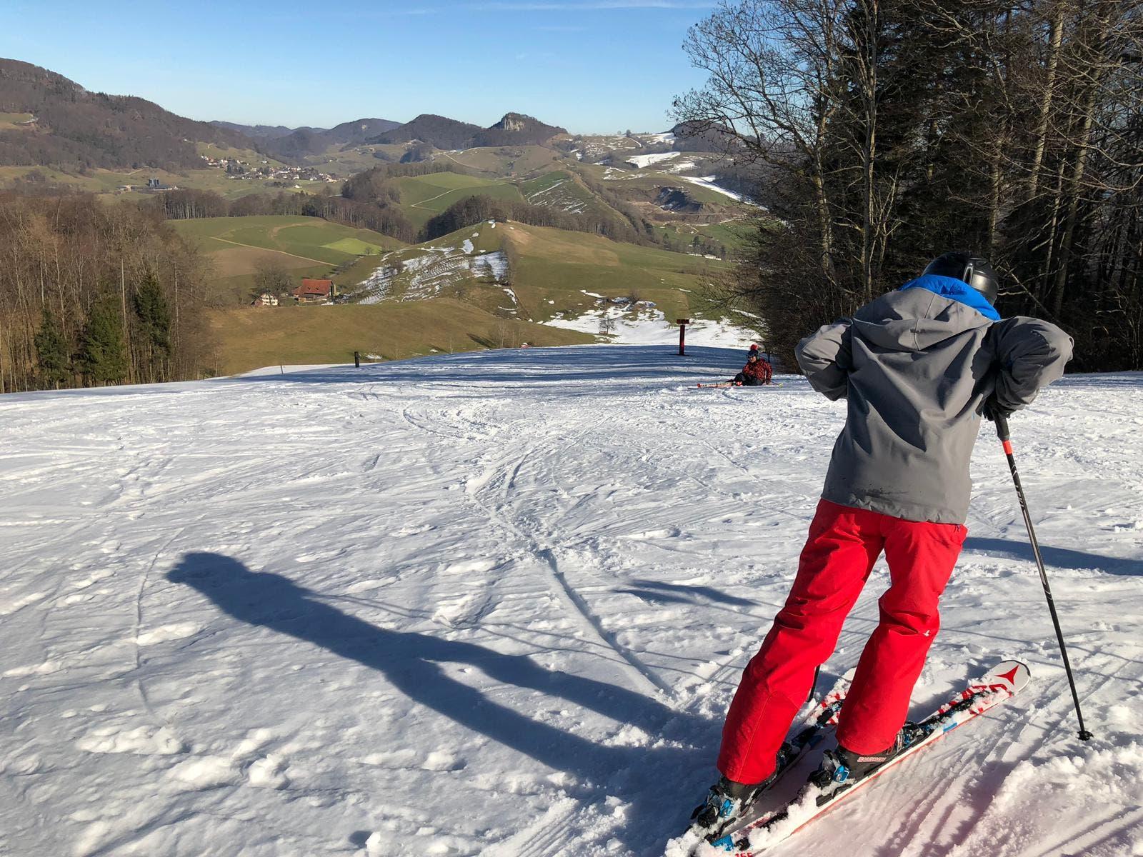 «Erfolgreiche Saison» Der Skilift Gsahl auf dem Hauenstein verbucht Mitte Februar 2019 eine «erfolgreiche Saison», wie Vereinspräsident Martin Rubitschung sagt.