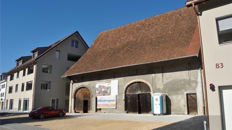 «Rösslischüüre» wird zum Gewerbehaus – Baustart voraussichtlich Anfang 2019