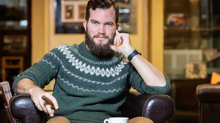 Der Selfmade-Gentleman: Dieser Aargauer kann von seinem Online-Magazin leben