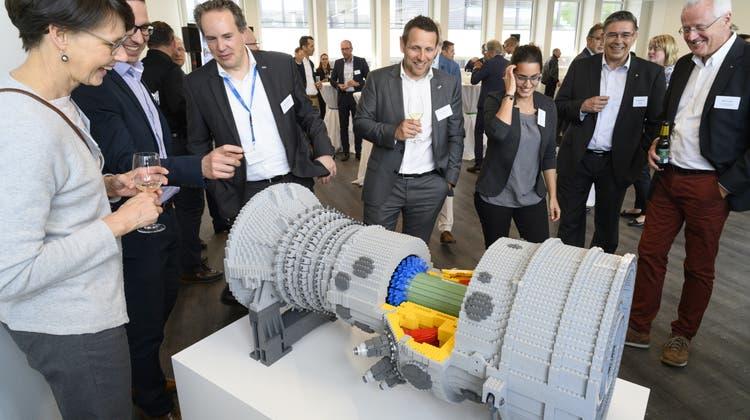 Ein ganz besonderes Lego-Geschenk: Ansaldo Energia bezieht seinen neuen Sitz