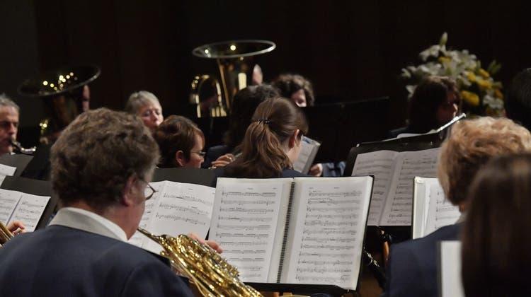 Die Stadtmusik punktet im Parktheater mit dem Jahreskonzert