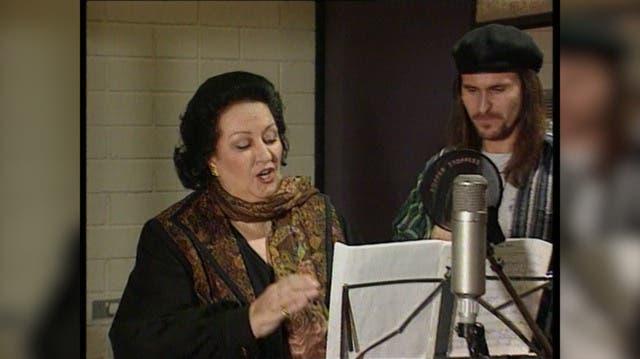Opern-Diva Montserrat Caballé (†85) brachte Schawinski ins Schwitzen – und sang unwiderstehlich mit Steve Lee