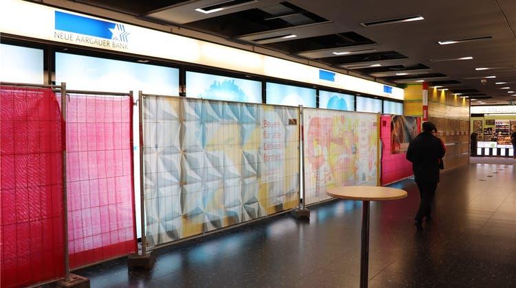 Kunstwerk im Metroshop fällt NAB-Umbau zum Opfer