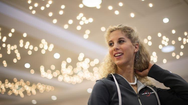 Jolanda Neff ist voller Optimismus – trotz einer offenen Rechnung