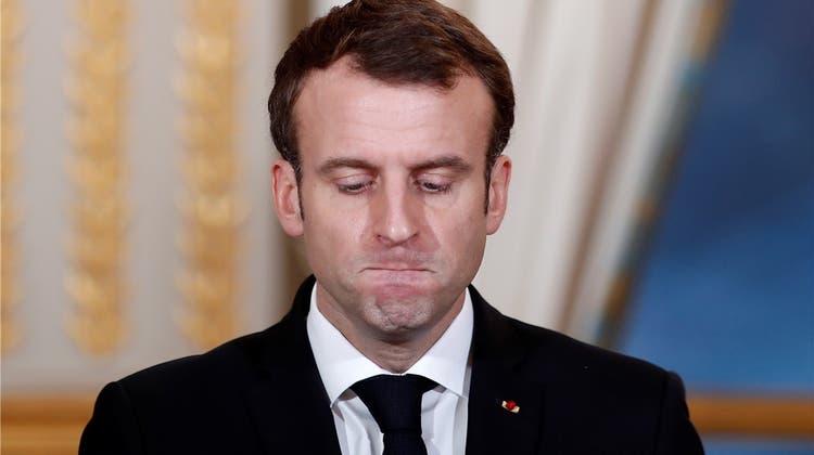Emmanuel Macron galt als Hoffnungsträger Europas – jetzt droht ihm Schiffbruch
