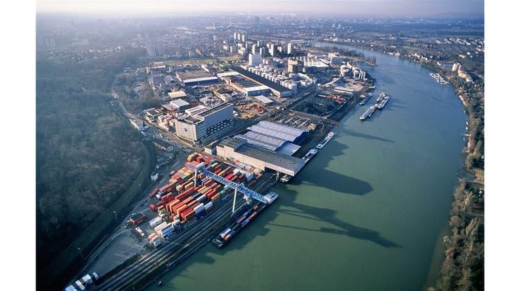 Schweizerische Rheinhäfen vermelden deutliches Güterumschlags-Plus