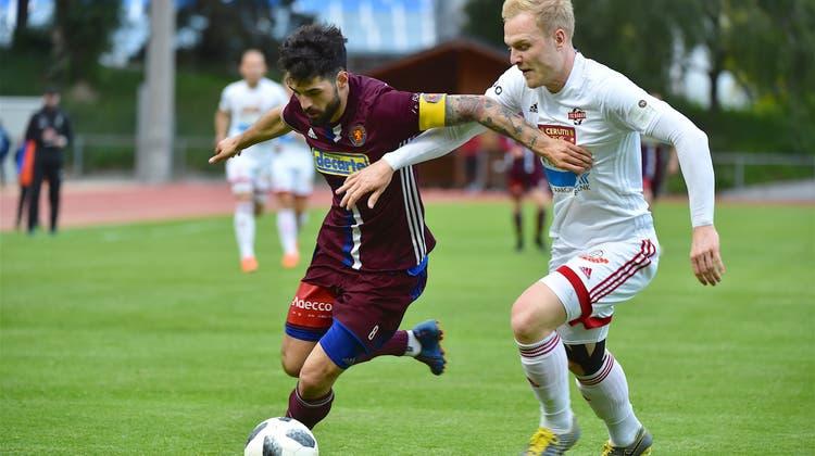 FC Baden verliert in Martigny mit 0:1 und geht mit leichter Rücklage ins Rückspiel