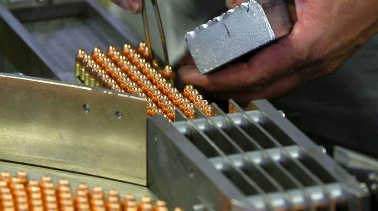 Bund relativiert Exporterfolg der Waffenindustrie
