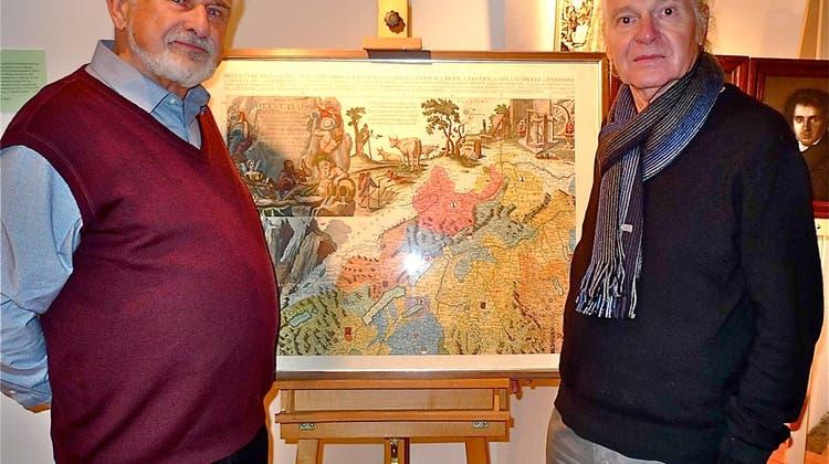 Ausstellung im Museum Schiff: Diese Arbeit steckt hinter den Landkarten