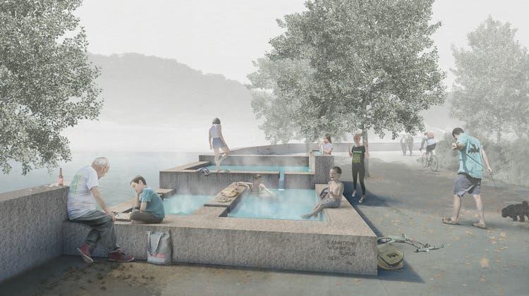 Gratis-Thermalbad mitten in der Stadt: «Heisser Brunnen» wird konkret