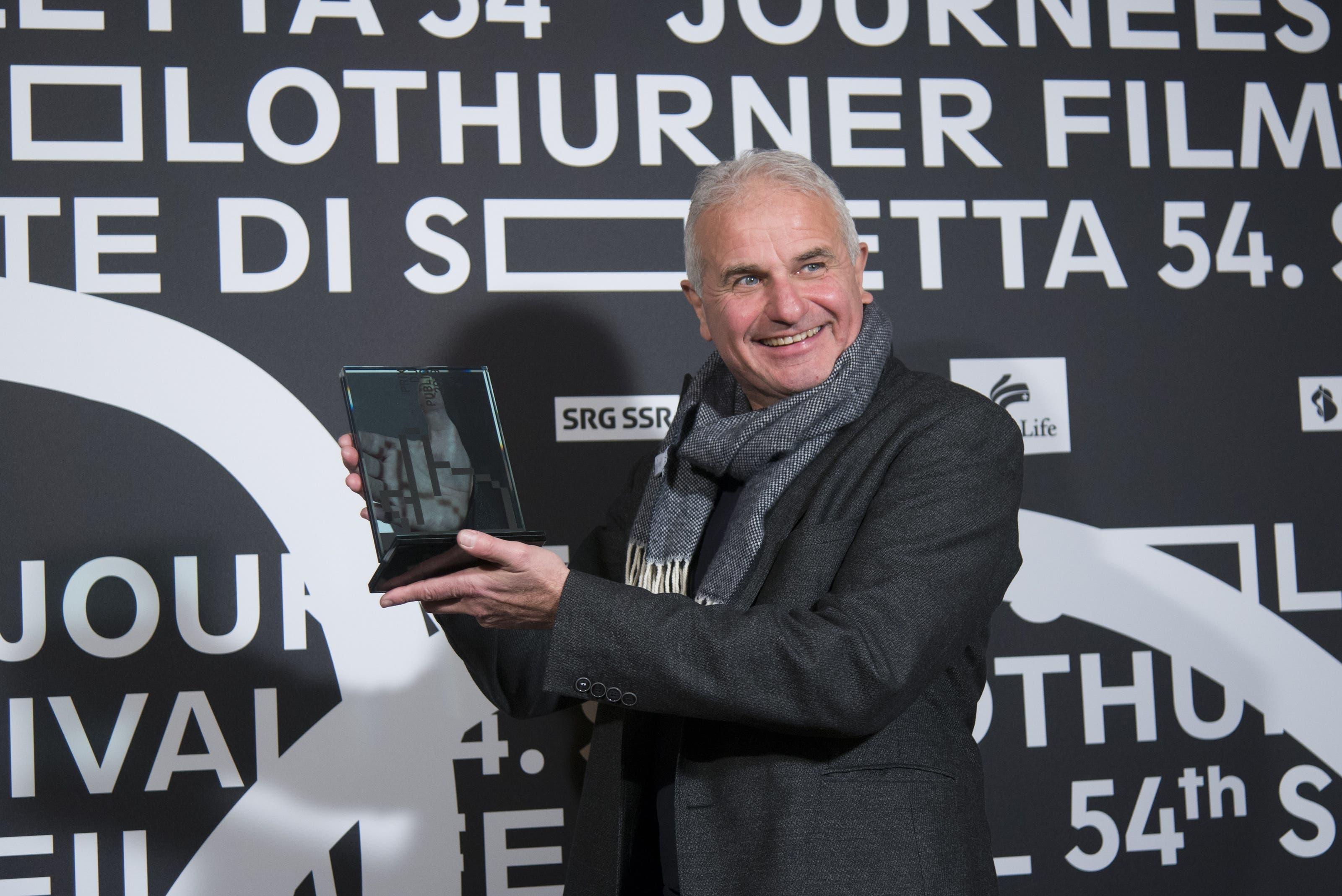 Martin Witz gewinnt den «Prix du Public».