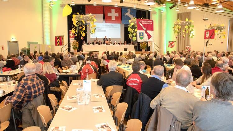 Heinz Hammer übergibt Schützen-Präsidium an Jürg Dietschi