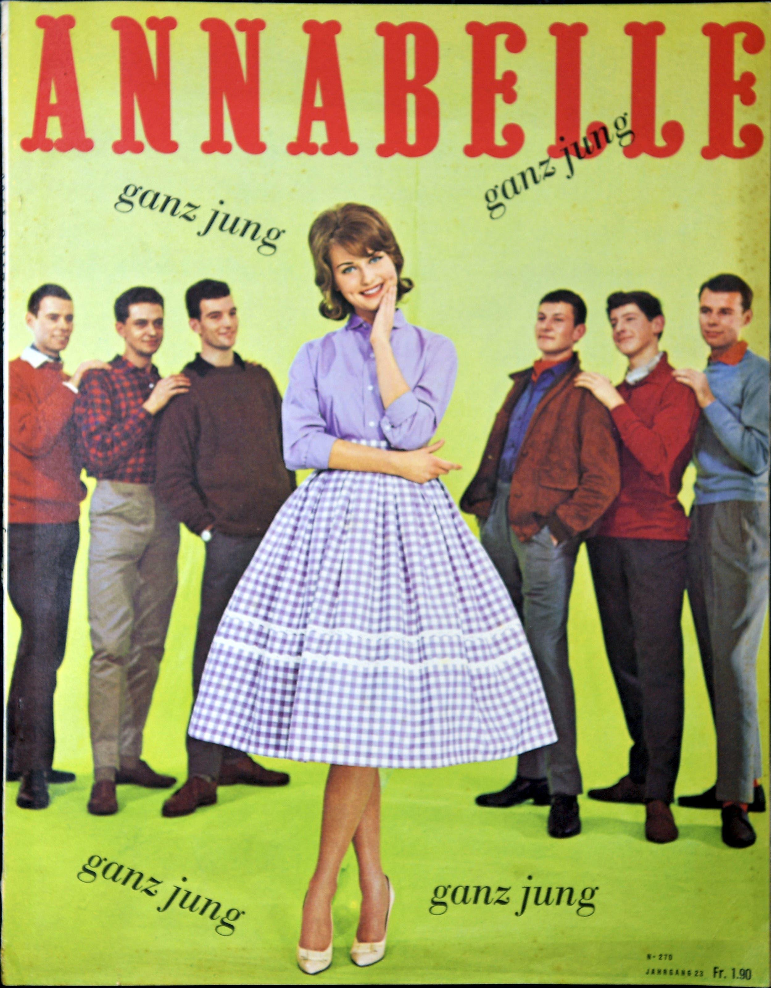 Annabelle, Frühjahr 1960