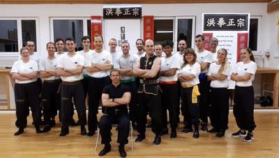 Ein Grossmeister, geschmiedet wie die Shaolin