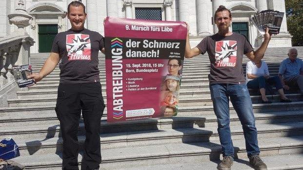 Pnos werben in Solothurn für Marsch gegen Abtreibung – und sorgen bei Veranstaltern für Ärger
