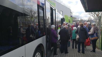Extrafahrt fürs Einkaufen und Plaudern – jetzt fährt ein Gratis-Bus ins Wynecenter