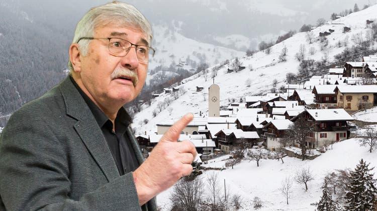 Ein Walliser wittert ein Tauschgeschäft: Biete Bauzonen gegen sechs Milliarden Franken!