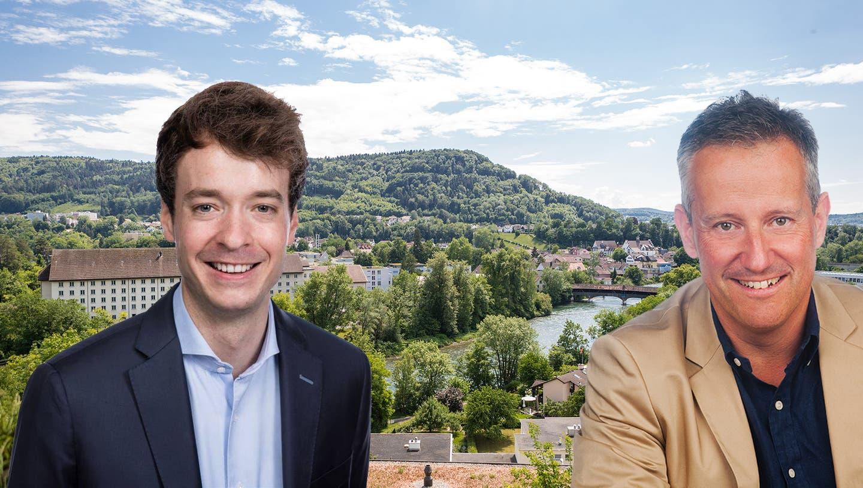 Debatte über Fusion: Die Badener SVP lud Turgis Ammann ein