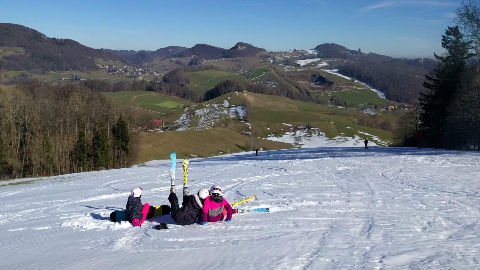 Skilift Gsahl geht in die Sommerpause