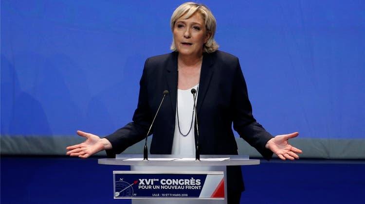 Das Leiden der Marine Le Pen in Frankreich