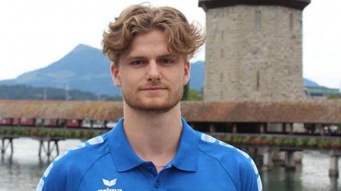 Lars Ulrich, Passeur Volley Luzern. (PD)