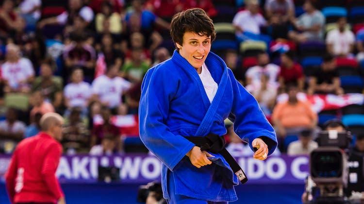 Grand-Prix-Silber für Judoka Evelyne Tschopp – Nur Kelmendi kann sie in Tashkent stoppen