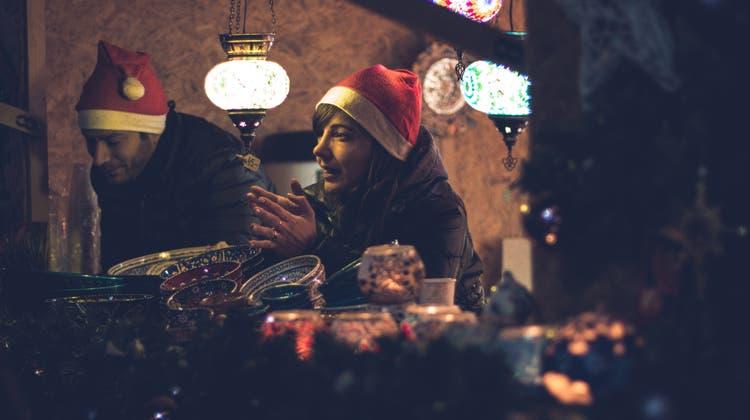 Der Grenchner Weihnachtsmarkt: Klein aber fein