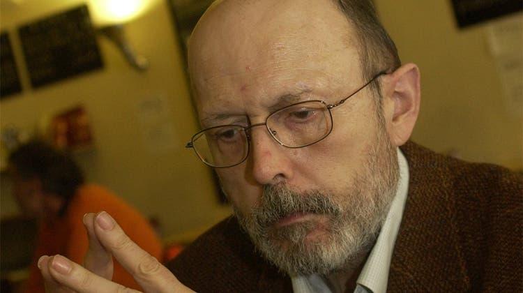 Der Solothurner Walter Schenker ist unerwartet verstorben