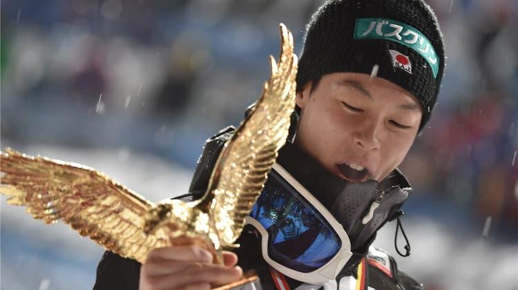 Vierschanzentournee-Grand-Slam-Gewinner Ryoyu Kobayashi: Der King setzt neue Massstäbe