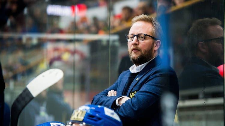 Jetzt ist es definitiv: Der 41-jährige Schwede Fredrik Söderström wird Trainer des EHC Olten