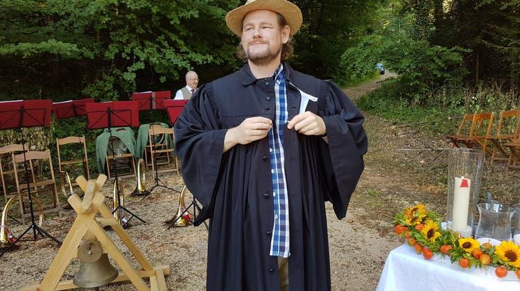 Waldgottesdienst der reformierten Kirchgemeinden Auenstein und Veltheim-Oberflachs