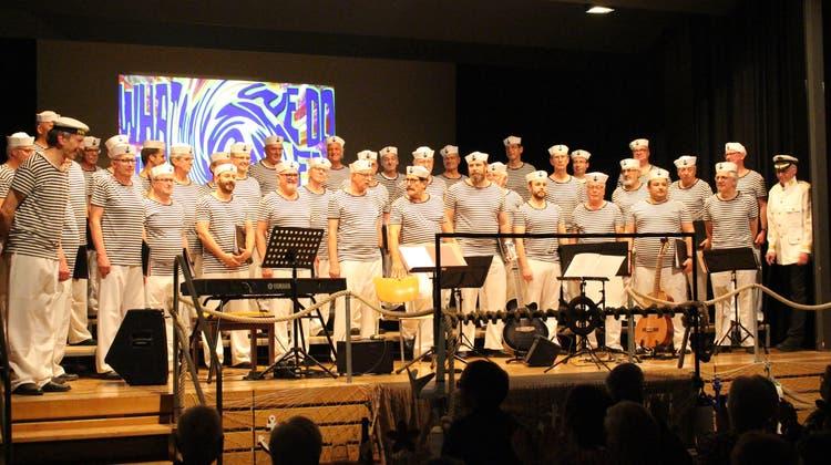 Der Männerchor Frick begeisterte in Hornussen wie in Frick mit Konzerten