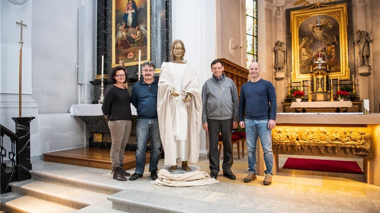Jesus-Figur hat in Deitingen eine Heimat gefunden