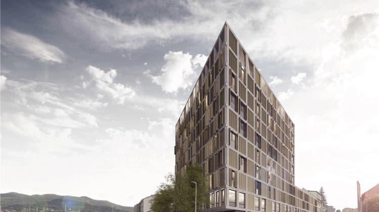 Gebäude neben Bahngeleisen soll 31 Meter hoch werden – das ruft Kritiker hervor