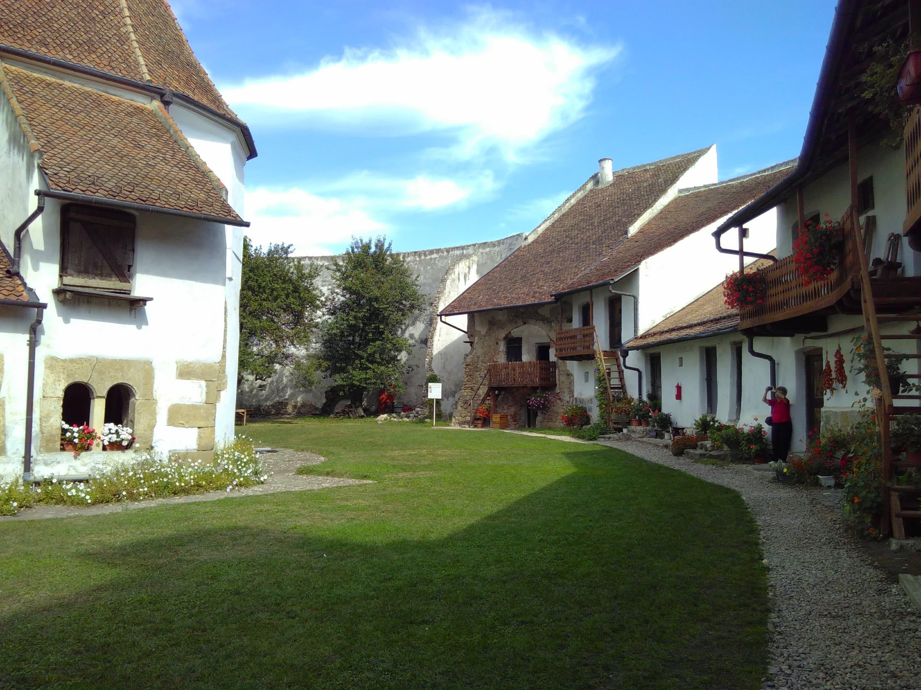 Kirchenburg in Honigberg