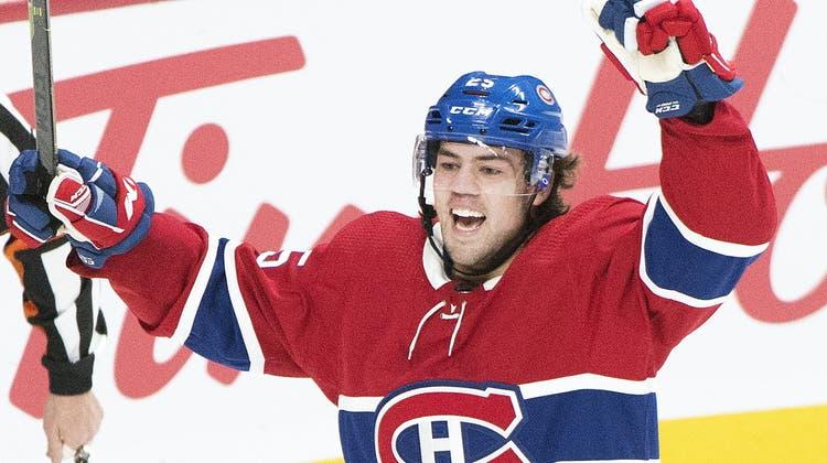 3 Schüsse, 3 Tore – das sensationelle NHL-Debüt des Ryan Poehling