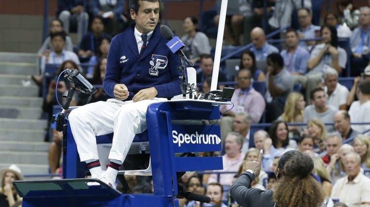 Serena Williams nannte ihn Dieb und Lügner: Jetzt spricht Schiedsrichter Carlos Ramos