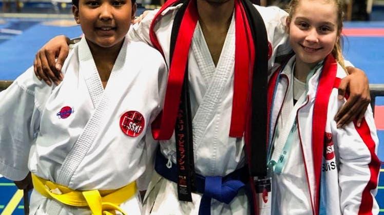 Laufenburger Karatekas an der International Swiss Junior Open