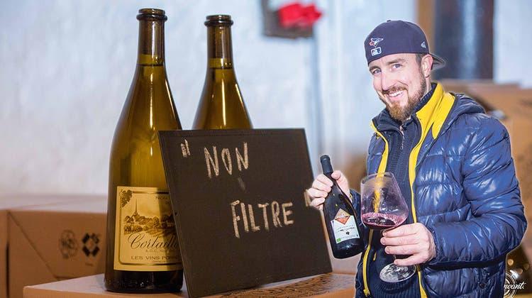 Bitte schütteln: Die ersten Schweizer 2018er-Weine sind da!