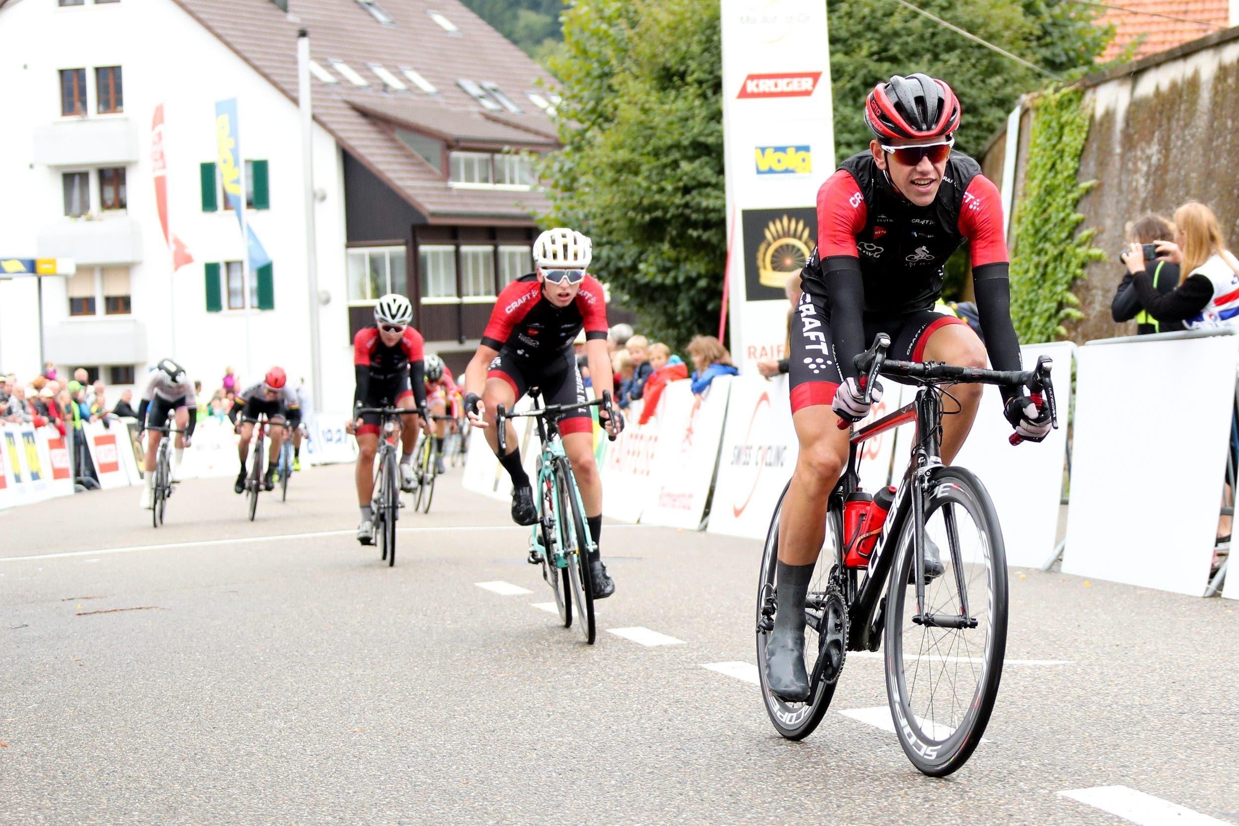 GP Rüebliland, Bericht 1. Etappe in Wittnau